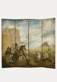 Plains Indian Hunting Screen